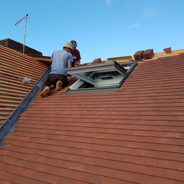 Roof repair in London